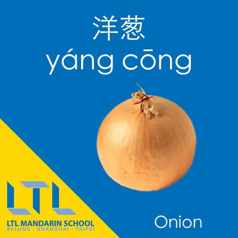 Onion in Chinese