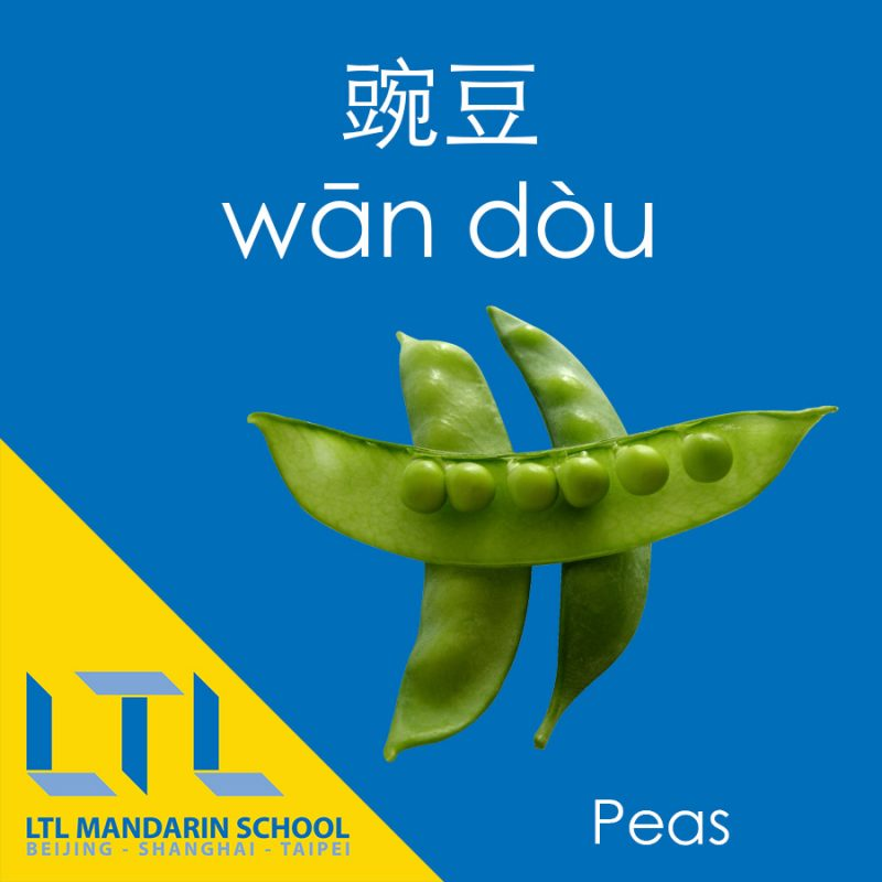 Peas in Chinese