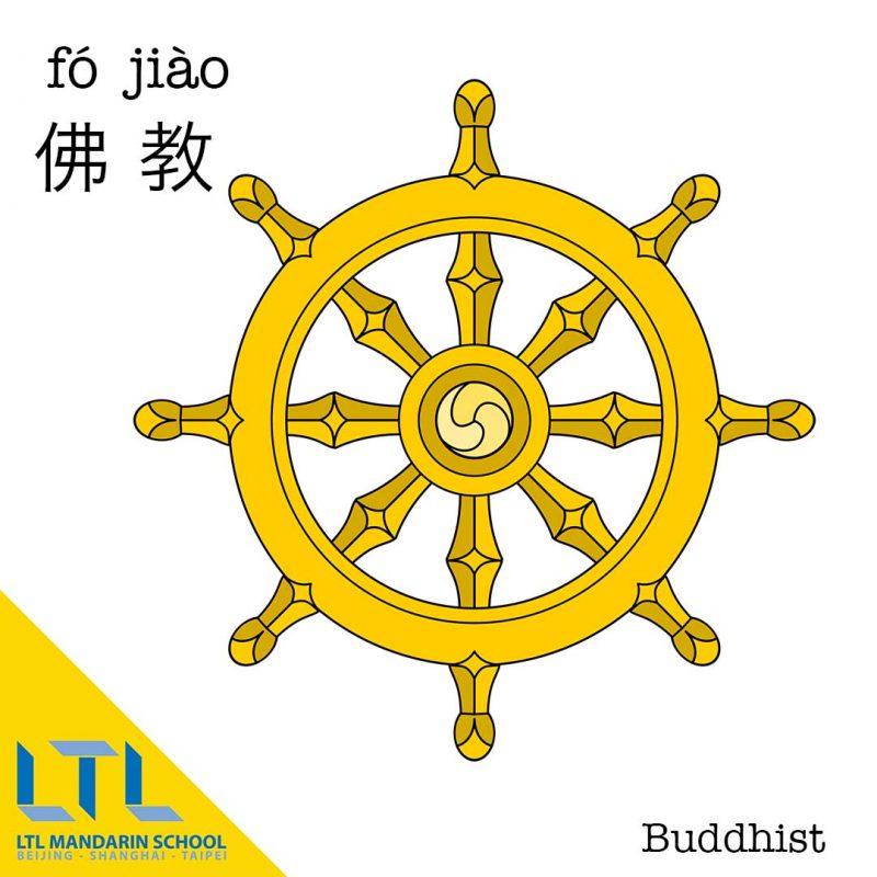 Buddhist in Chinese