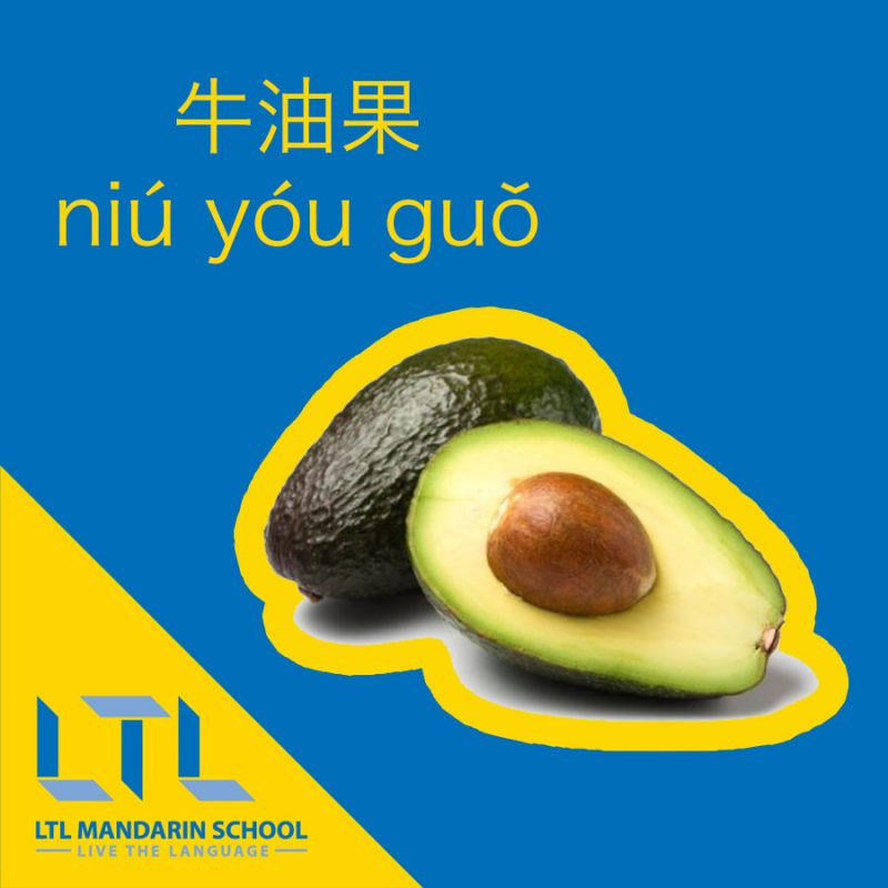 Avocado in Chinese