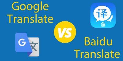 Baidu Translate vs. Google Translate 🥊 The Ultimate Debate: Who Wins?