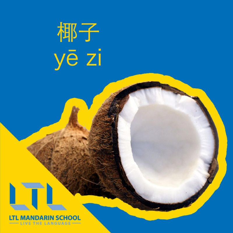 Coconut in Chinese