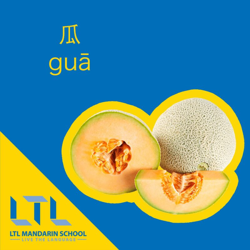 Melon in Chinese