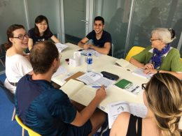 Learning Chinese in groups at LTL