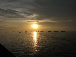 Sunset in Beihai
