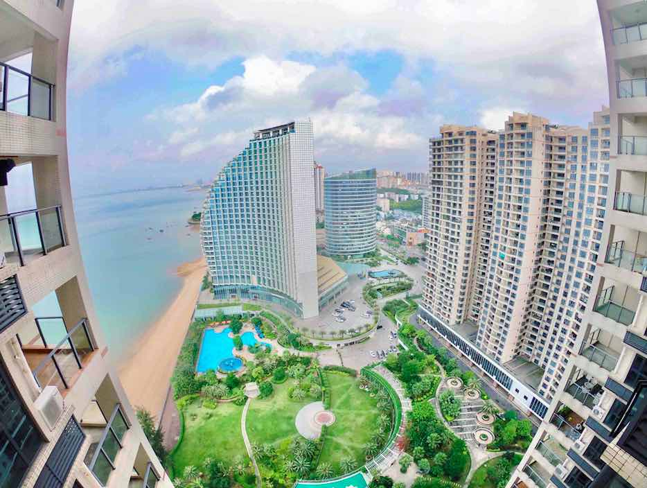 Beihai City Beach View