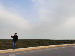William exploring Beihai