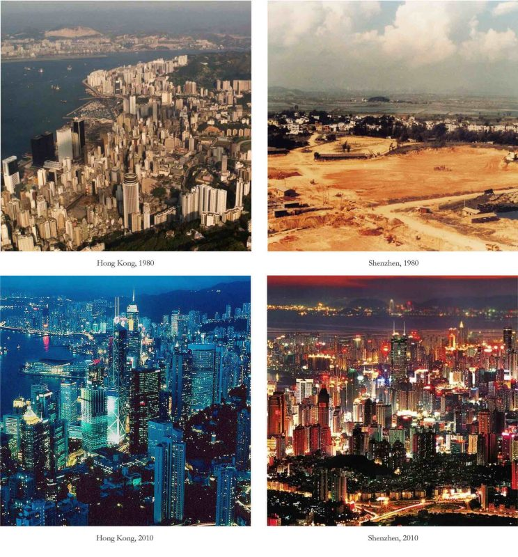 Hong Kong and Shenzhen - 1980 - 2010