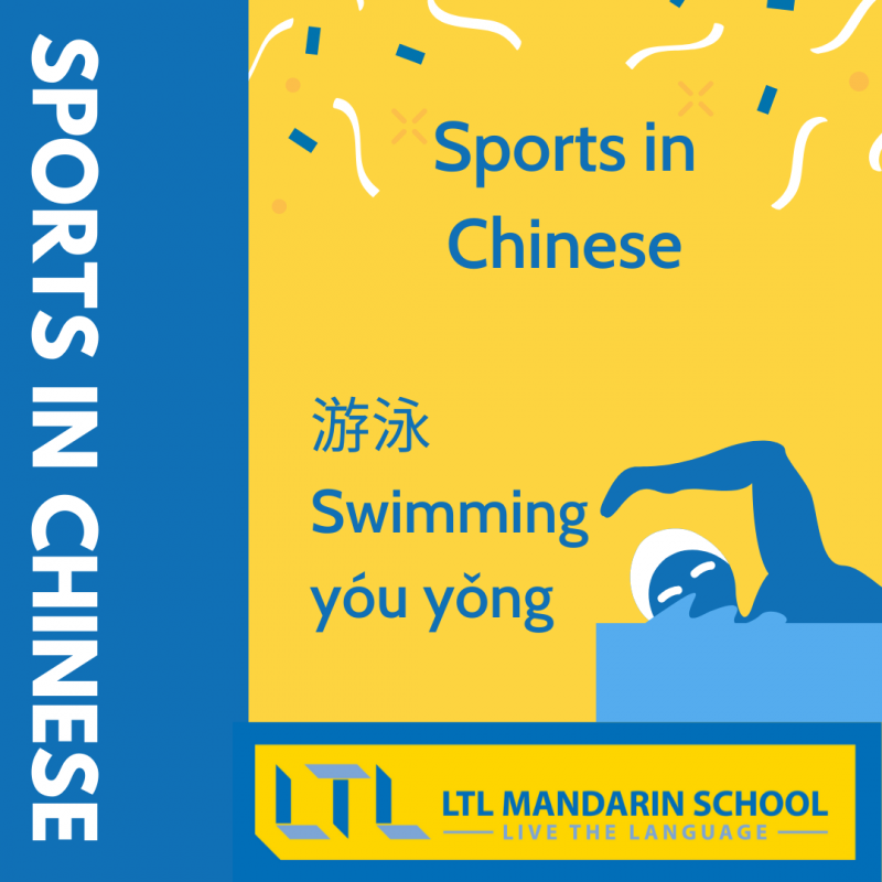 Sports in Chinese - Swimming