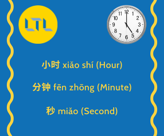 Time in Chinese - The Clock